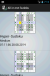 All in one Sodoku screenshot 6/6