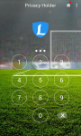 AppLock Theme Woman Soccer screenshot 1/3