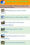 Adventure Activities screenshot 2/3