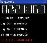 RunCalc screenshot 1/3