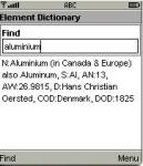 Element Dictionary screenshot 1/1