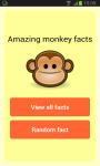 Amazing Monkey Facts screenshot 1/4