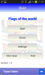 Quiz: Flags of the world screenshot 1/6