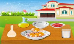 Strawberry Cake Cooking Game screenshot 2/3