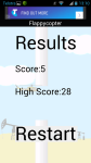 Flappy Copter screenshot 5/6