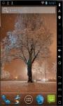 Wonderful Snow Live Wallpaper screenshot 2/2
