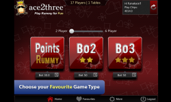 Ace2Three Rummy screenshot 2/6