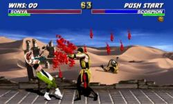 Mortal Kombat 3 Ultimate HDFull screenshot 2/4