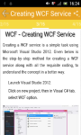 Learn WCF screenshot 2/2