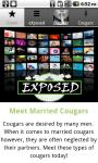 Meet REAL Married Cougars screenshot 1/3