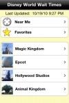Disney World Wait Times screenshot 1/1