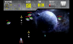 Galactic Shooter by GROm Games screenshot 1/6
