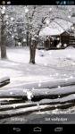 New Falling Snow Live Wallpaper screenshot 3/3
