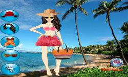 Hawaii Beach Dressup Free screenshot 1/3