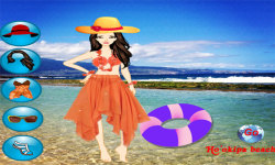 Hawaii Beach Dressup Free screenshot 2/3