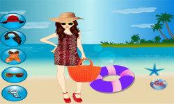 Hawaii Beach Dressup Free screenshot 3/3
