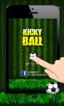 Kicky Ball screenshot 1/3