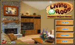 Free Hidden Object Games - Living Room screenshot 1/4