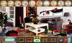 Free Hidden Object Games - Living Room screenshot 3/4