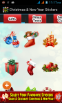 Christmas and New Year Stickers 2015 screenshot 2/6