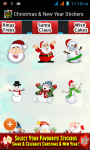 Christmas and New Year Stickers 2015 screenshot 4/6