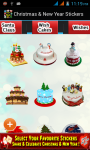 Christmas and New Year Stickers 2015 screenshot 5/6