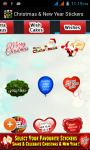 Christmas and New Year Stickers 2015 screenshot 6/6