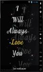 Always Love You Live Wallpaper screenshot 1/2