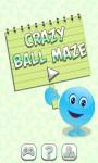 Crazy Ball Maze screenshot 1/6