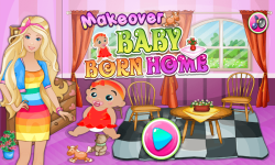 Makeover New Baby Born home screenshot 1/5