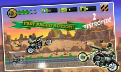 Biker Ninja Quick Gun Escape screenshot 2/4