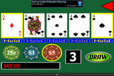 Video Poker Fun screenshot 1/3