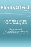 POF Mobile - Free Online Dating screenshot 1/1