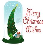 Merry Christmas Wishes S40 screenshot 1/1