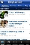 Bangkok Post News for iPhone screenshot 1/1