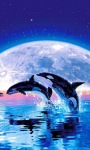 Moon Whales Live Wallpaper screenshot 2/3