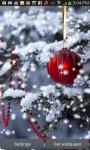 Christmas Tree Snow Live Wallpaper screenshot 1/3