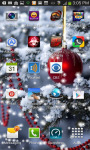 Christmas Tree Snow Live Wallpaper screenshot 2/3