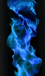 Blue Fire Wallpaper Free screenshot 2/6