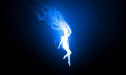 Blue Fire Wallpaper Free screenshot 5/6