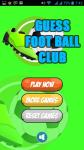 Guess FootBall Club screenshot 2/2