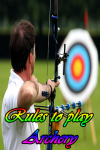 Rules to play Archery screenshot 1/3