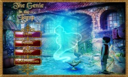 Free Hidden Object Game - The Genie in the Lamp screenshot 1/4