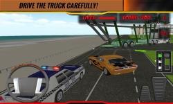 Modern Car Transport Trailer screenshot 1/4