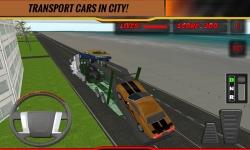Modern Car Transport Trailer screenshot 3/4