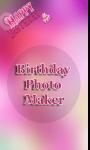 Birthday HD photo maker  screenshot 2/4