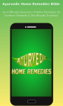 Ayurveda Home Remedies screenshot 1/6