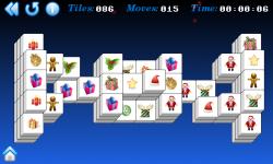 Christmas Mahjong screenshot 3/5