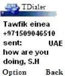 Tawfik Dialer screenshot 1/1