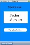 Algebra Quiz screenshot 1/1